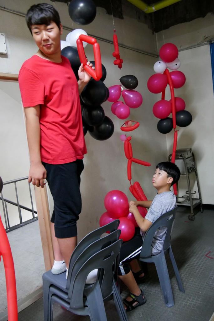 #스펙트럼신디캣 - balloons workshop 2