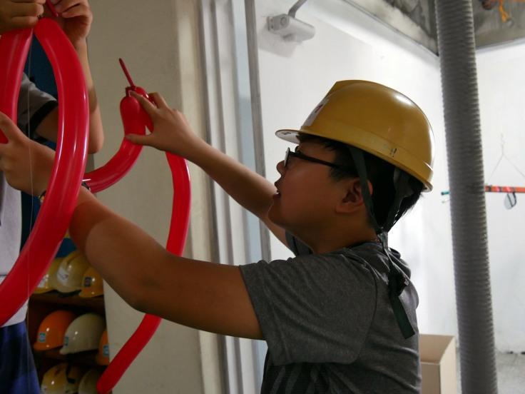 #스펙트럼신디캣 - balloons workshop 4
