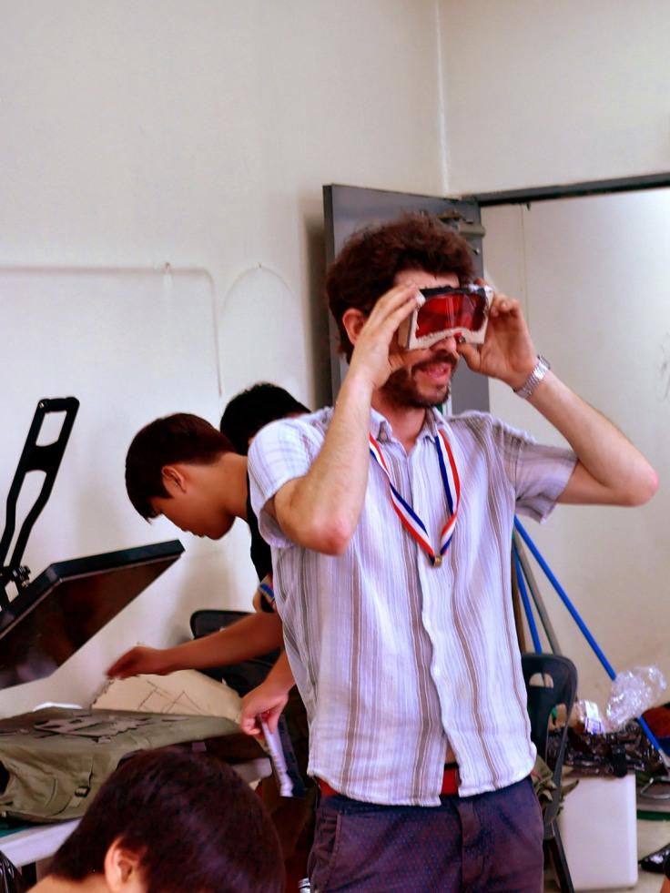 #스펙트럼신디캣 - ghost Hunt glasses workshop 2