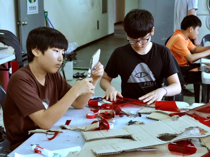 ‪#‎스펙트럼신디캣‬ - ghost Hunt glasses workshop