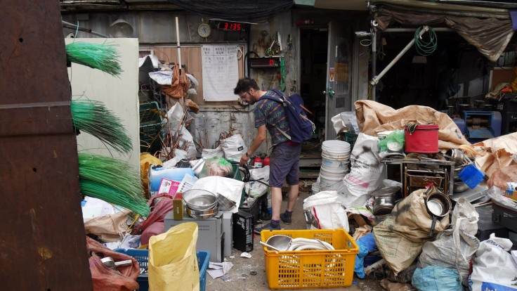 #스펙트럼신디캣 - looking for recycled materials